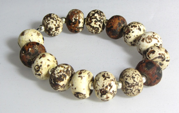 Nutmeg Bracelet  www.etsy.com/shop/NativeJewellery