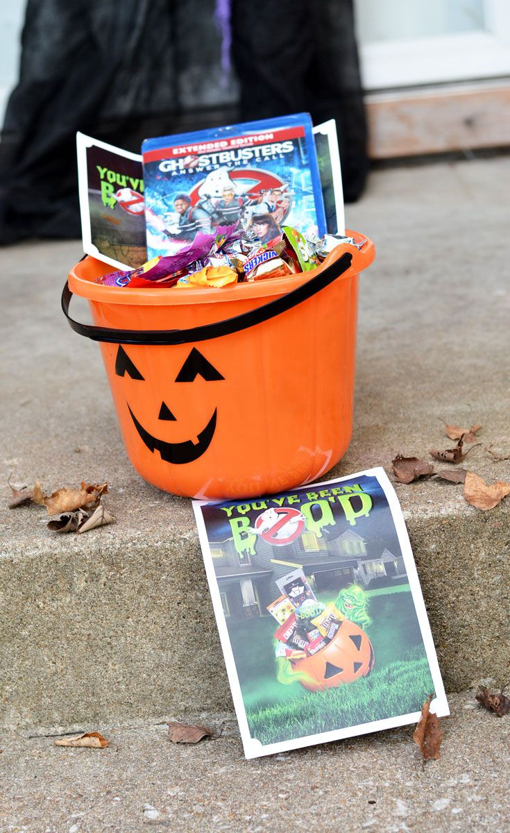 Halloween Boo Kit - Ghostbusters DVD Release