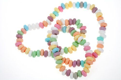 Candy Necklace / Sweet Necklace Pack of 10 LOL - PEC Brand http://www.amazon.co.uk/dp/B001MI7I5E/ref=cm_sw_r_pi_dp_H6UZtb19BH7XPFFE