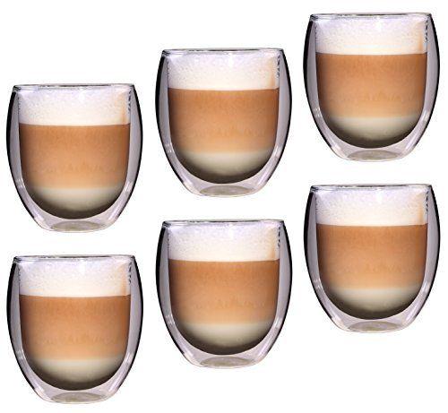 Feelino Rondo doppelwandige 6 Stück 400 ml große Teegläser / Kaffeegläser, edles und extra großes Thermoglas mit Schwebe-Effekt im Geschenkkarton, http://www.amazon.de/dp/B00B620O7K/ref=cm_sw_r_pi_awdl_x_mnlgybV53NTZ1