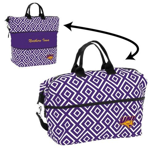 University of Northern Iowa Tote Bag Expandable Diamond Carrier