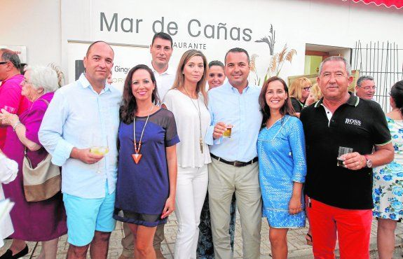 Artículo sobre Mar de Cañas Restaurante en Portman Bahia en el periódico La Verdad