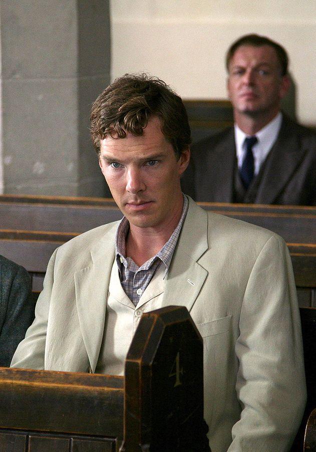 Benedict Cumberbatch as Luke Fitzwilliam in Marple: Murder is Easy (2008).