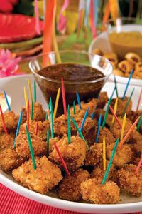 Paula Deen's Ranch Chicken Nuggets!  So yummy! and easy too!
