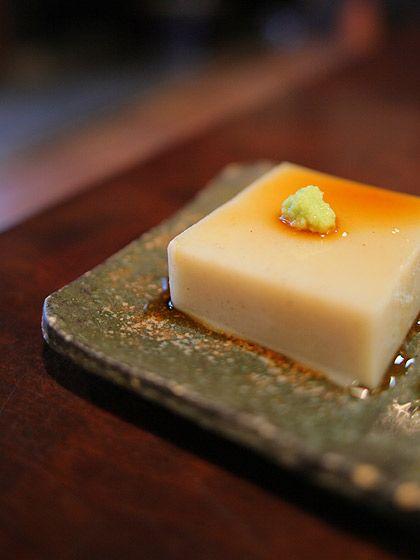 かね井:蕎麦豆腐