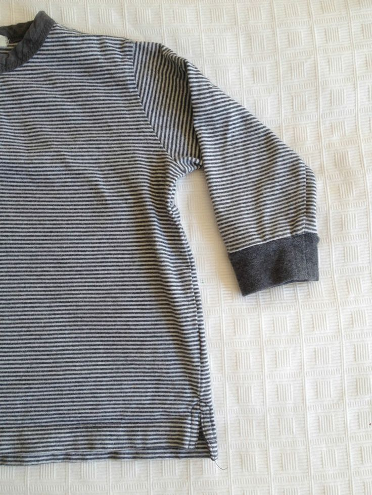 Unisex Baby Seed Striped Long Sleeve Shirt - Size 1-2 - Now Selling! Click through to go to eBay auction.