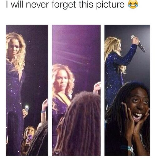 I am legitly dying Beyonce's face in that 2nd one kills me oh lord my stomach hurts