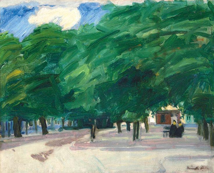 Márffy Ödön: Bruges-i Park, 1905-1906