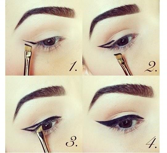 How to vintage make up