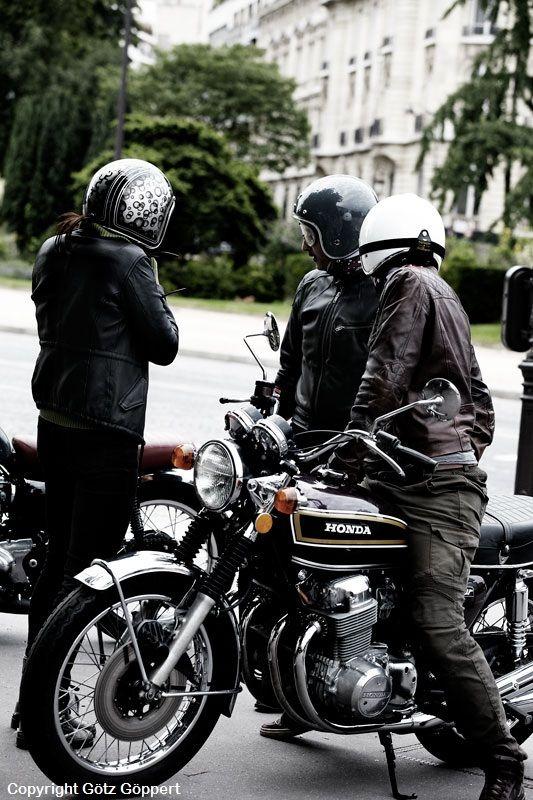 Honda 750 Four // essai dans Paris