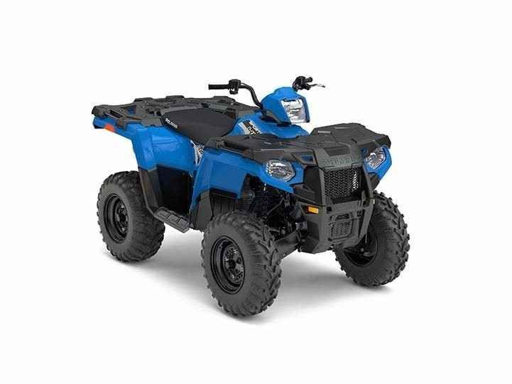 New 2017 Polaris SPORTSMAN 450 H.O. ATVs For Sale in Georgia. Sportsman® 450 H.O.VELOCITY BLUENew! Powerful 33 horsepower ProStar® engineLegendary independent rear suspension with 9.5 inches of travelLock & Ride® rack with integrated steel tie downs