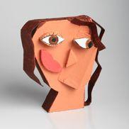 Churchill High School - Visual Art 3D - Cubist self portrait