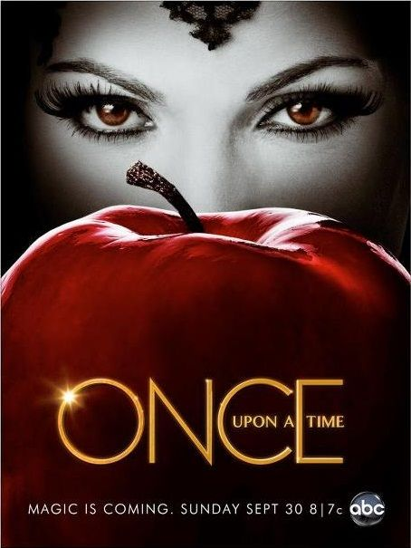 #OnceUponATime - poster da 2ª temporada (estreou a 1/10/12 na ABC)