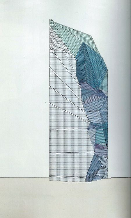 garethomas:  Peter Eisenman, Eisenman Architects The Max Reinhardt Haus, Berlin, Designed: 1992