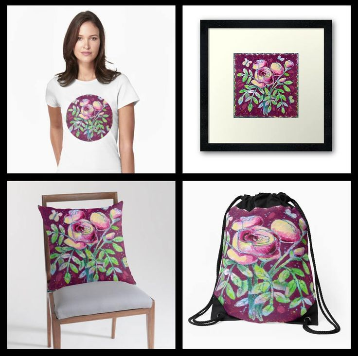 Rosy Romance on RedBubble – Dorothy Siemens. http://dorothysiemens.com/redbubble-merchandise-prints-home-decor-and-more/
