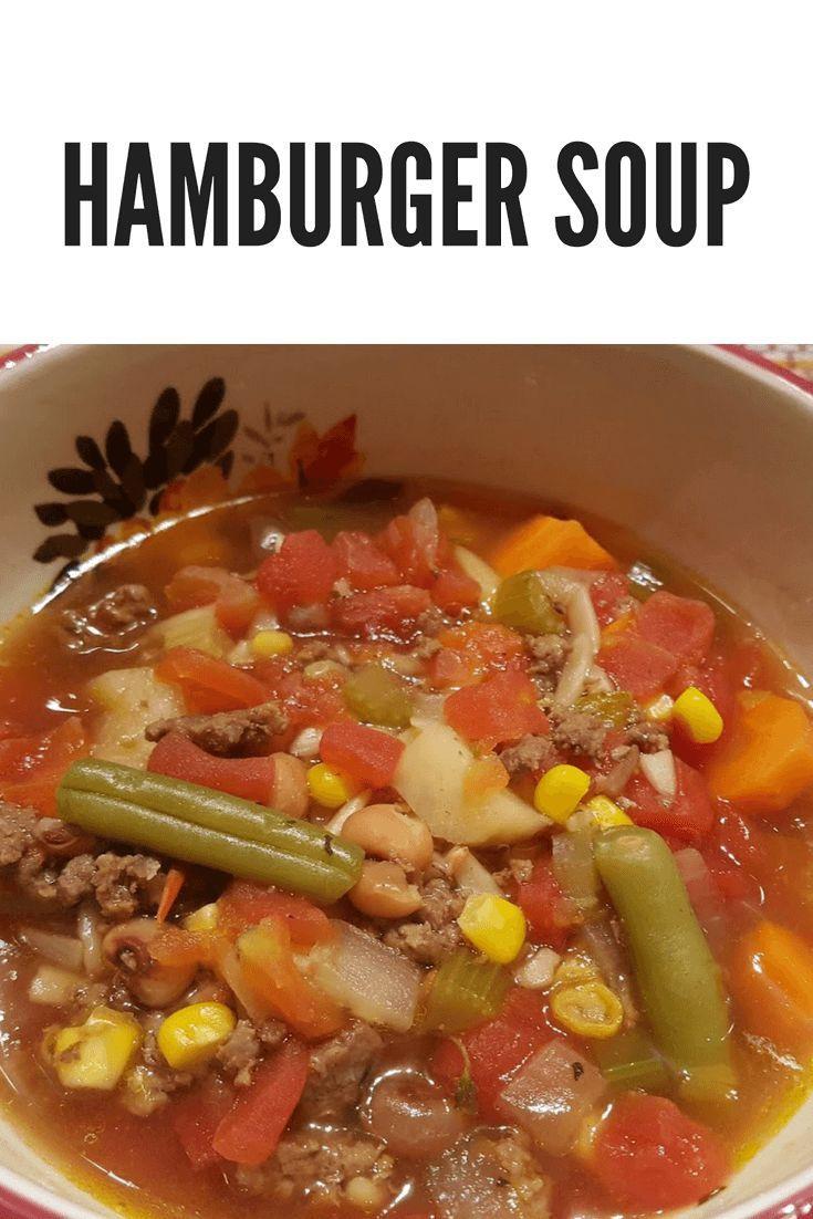Hamburger Soup Recipe Julias Simply Southern Hobo Stew Recipe Hamburger Vegetable Soup Vegetable Soup Recipes Hamburger Soup