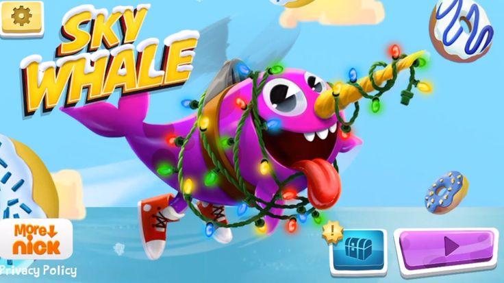 SKY WHALE (iPhone Gameplay Video) IOS Nickelodeon Games