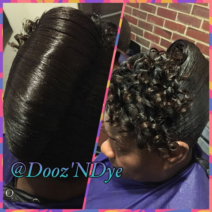 Hairstyle Girl French Roll: Hairstyles For Black Women