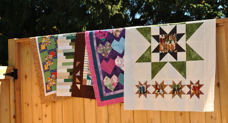 Donation baby quilts
