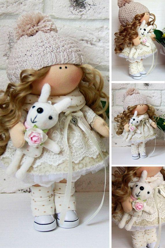 Handmade doll Nursery doll Cloth doll Baby by AnnKirillartPlace