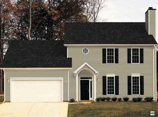 Certainteed Vinyl Siding Meadow Blend House Exterior