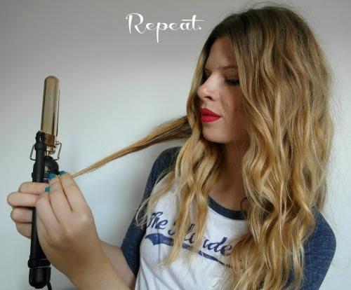 How to Do Boho Curls