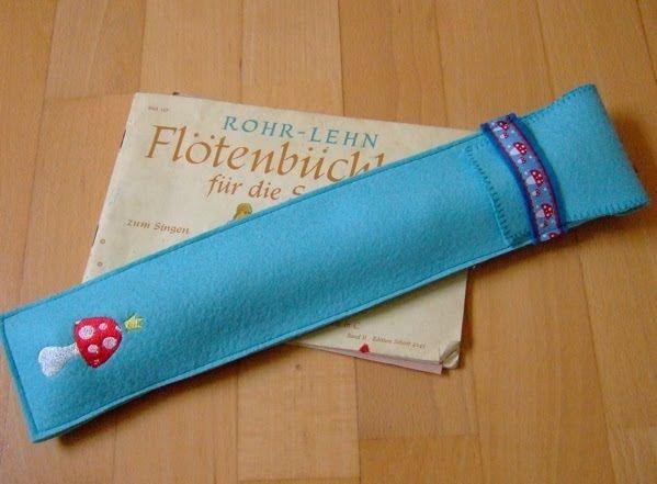 Be pretty by Beate: Flötentasche
