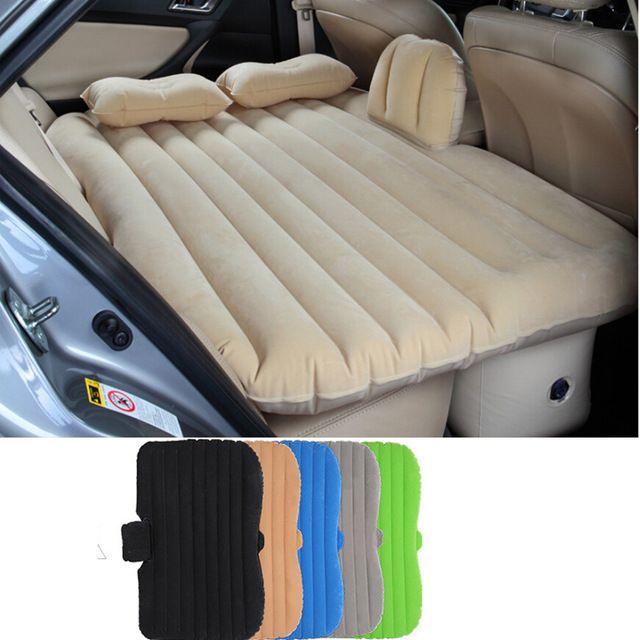aufblasbaren auto bett r cksitz abdeckung kissen outdoor. Black Bedroom Furniture Sets. Home Design Ideas