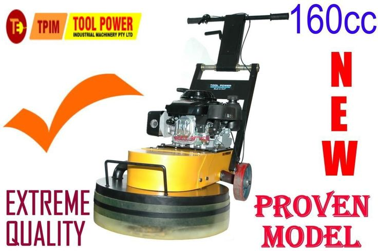 Concrete floor grinder belt drive unit, Standard Cutters