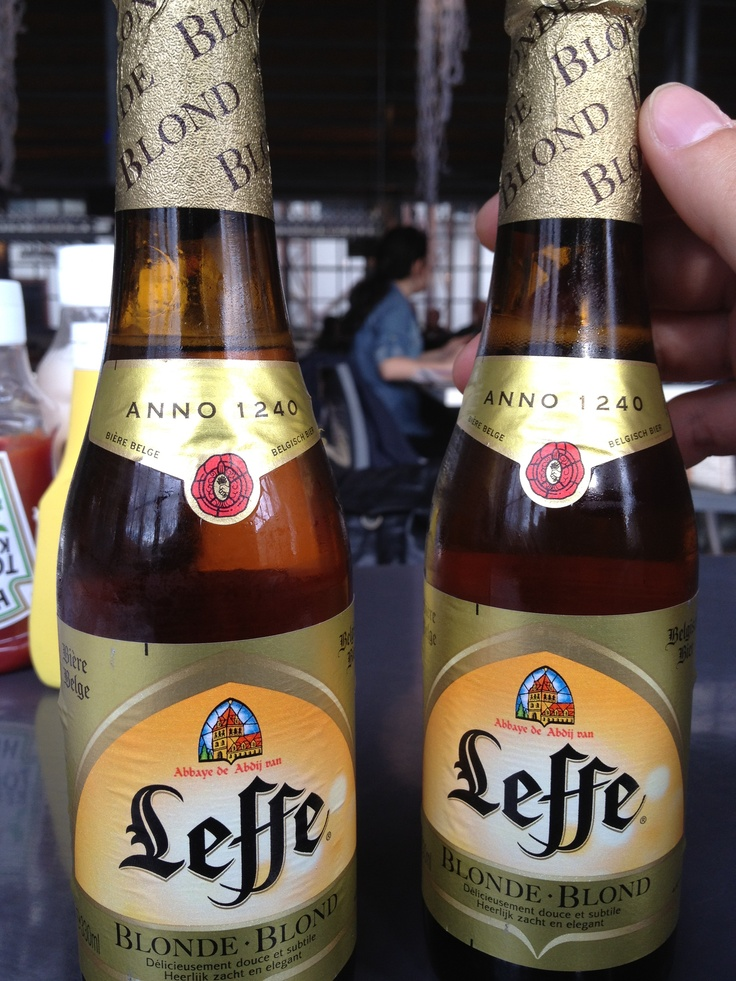 Leffe is one of my many favorite Belgian Beers!