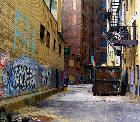 5x7 Graffiti Alley Fine Art Print by SnappyChic on Etsy, $12.005X7 Graffiti, Alley Fine, Art Prints, Fine Art, Industrial Buildings, Etsy Shops, Graffiti Alley