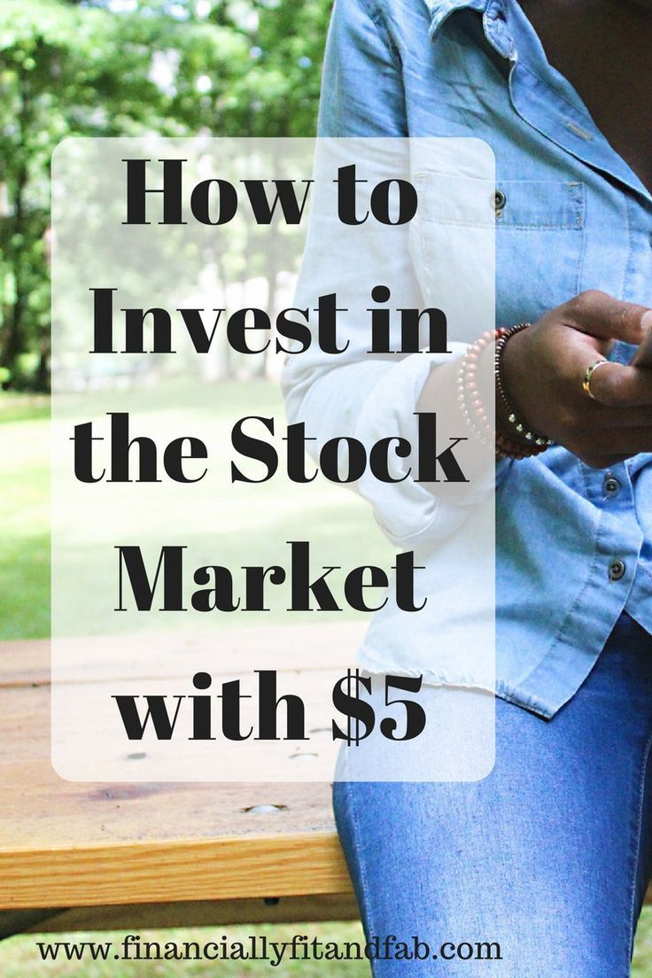 How to invest in the stock market with only $5 | Investing for beginners