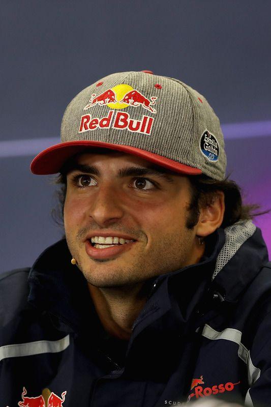Carlos Sainz Jr., Scuderia Toro Rosso talks in the Drivers Press Conference