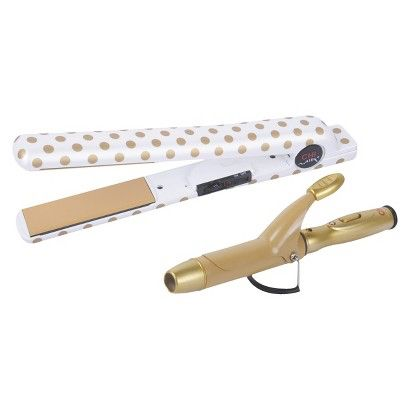 100 Target Target Ceramic Flat Iron Curling Iron