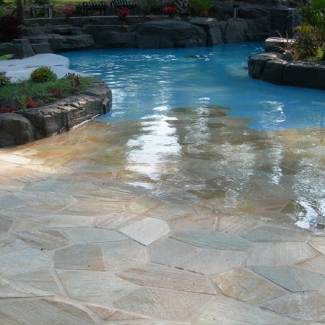 Walk In Swimming Pool Designs forget the hot tubwaterfall feature walk in pool with sun ledge in pool out back pinterest hot tubs and tubs Walk In Pool