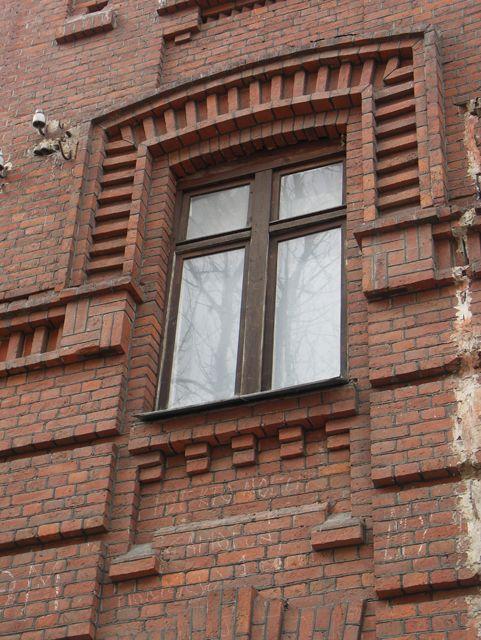 Архитектура окна. Кирпичная архитектура, фотографии кирпичрых домов. Архитектор Антон Булатецкий