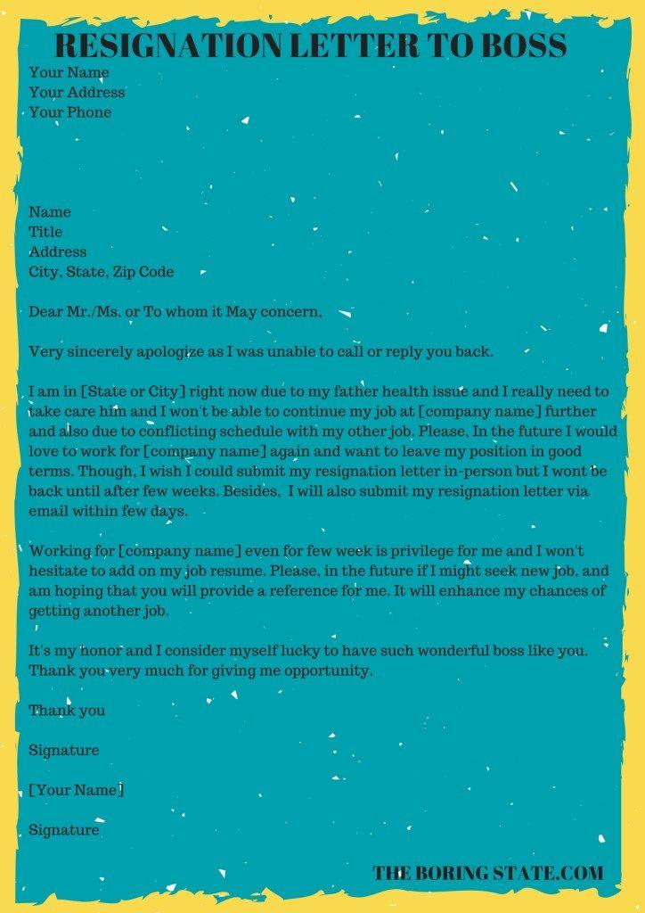 25 best ideas about Job resignation letter