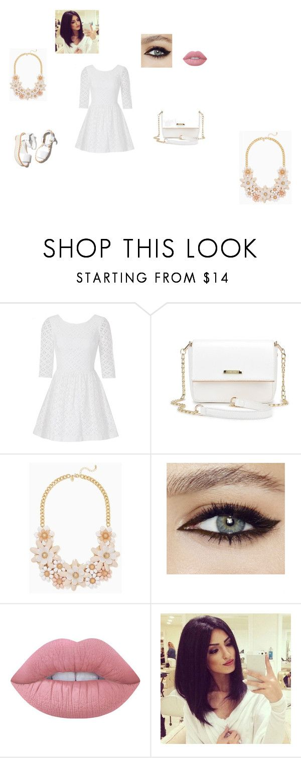 """""""Flower dress, The perfect Picnic or Garden party outfit"""" by tanjinalove on Polyvore featuring Lilly Pulitzer, Paloma Barceló and Lime Crime                                                                                                                                                                                 More"""
