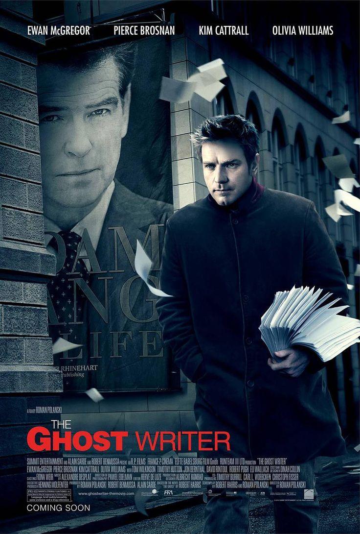 CCL - Cinema, Café e Livros: [Crítica] O Escritor Fantasma