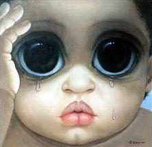 Big Eye Paintings by Keane | Woe is Me