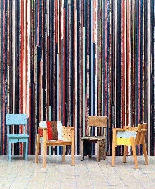 Design: modne stare drewno