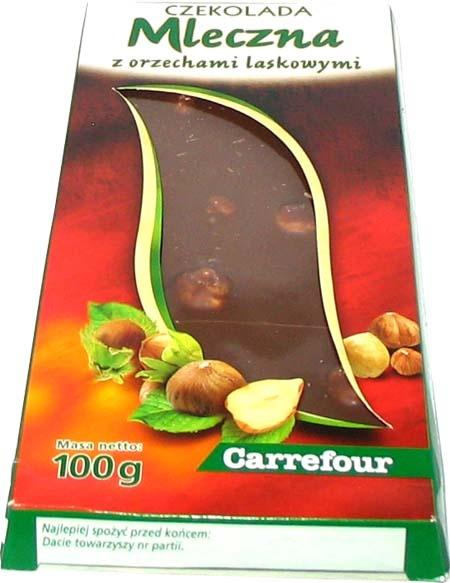 mleczna chocolate czekolada, Polish