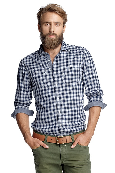 Esprit | Chemise carreaux double face | http://www.rienasemettre.fr/shopping-guide/chemise-carreaux-double-face-esprit/