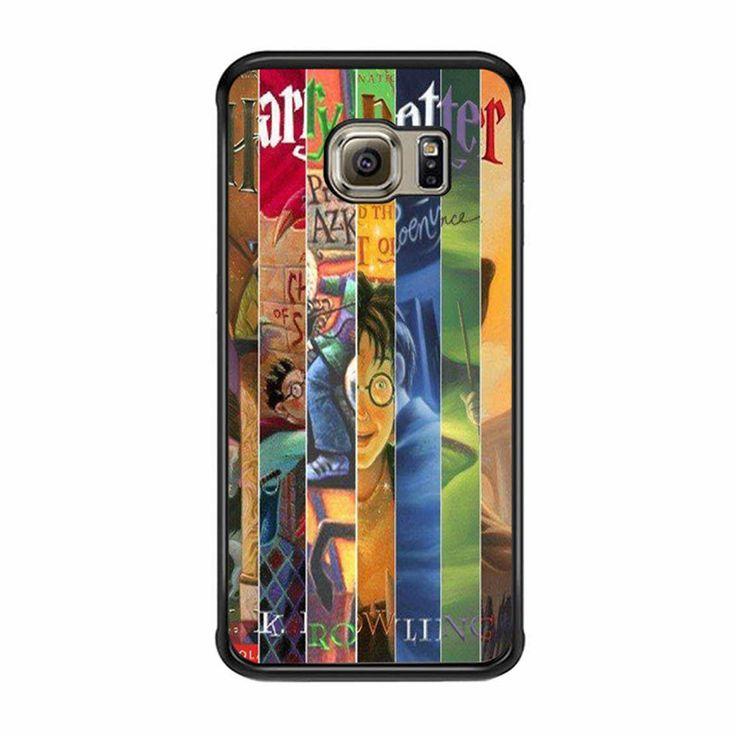 Harry Potter Books 2 Samsung Galaxy S6 Edge Case : Harry Potter Books ...