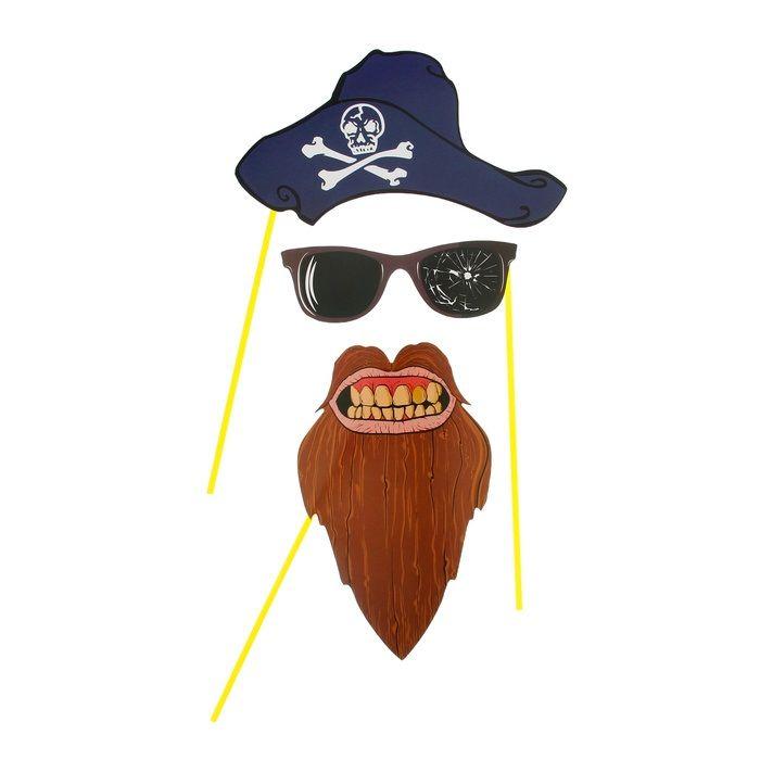 Аксессуары для пиратской вечеринки своими руками - Сборка интересных вещей