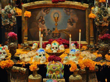 Destacan la belleza de las ofrendas mexicanas.
