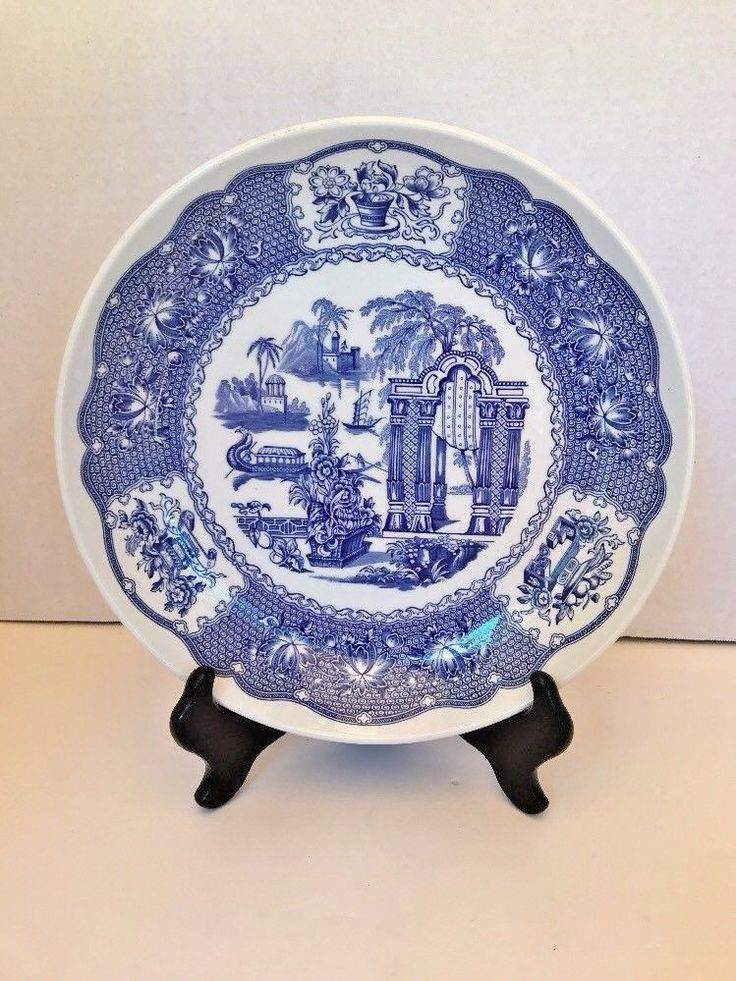 12 best cool vintage kitchen items images on pinterest kitchen spode the blue room collection regency pagoda serving pasta bowl plate 10 fandeluxe Images