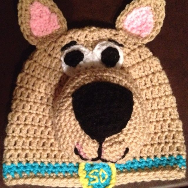 free crochet pattern for a scooby doo hat | Crocheted hat