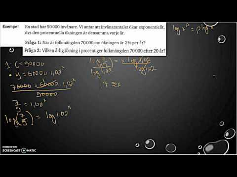Matematik 5000 2bc VUX - Kapitel 2 - Exponential- och potensekvationer (...