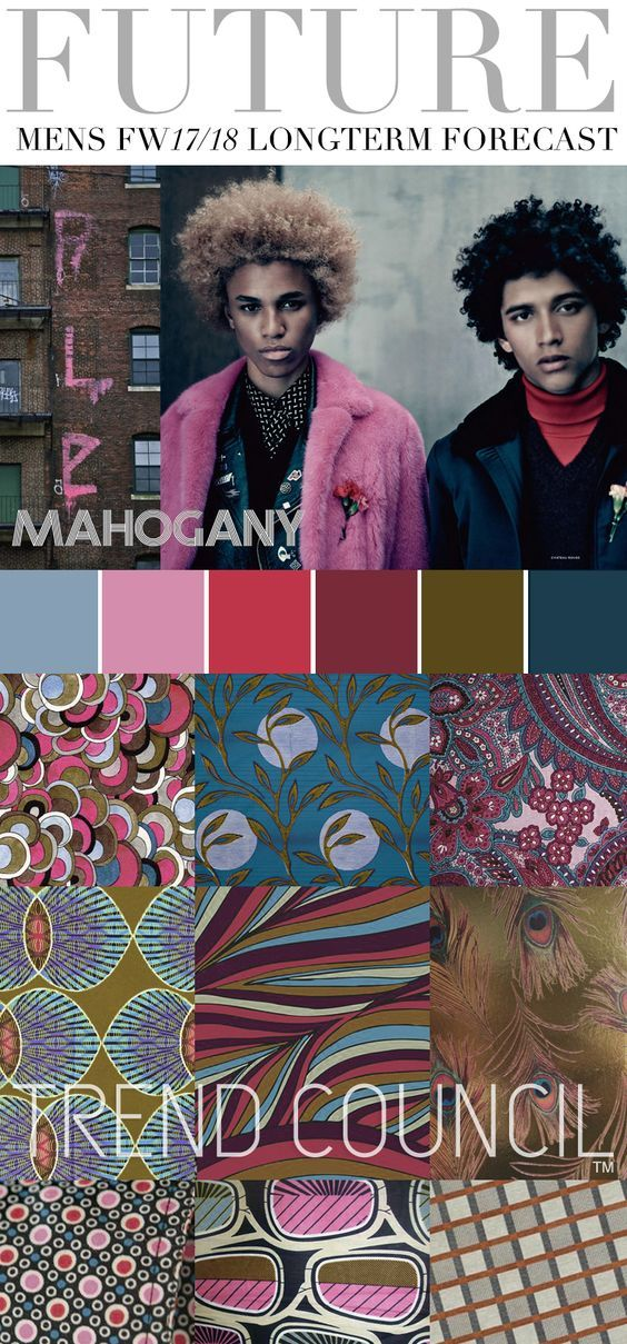 TREND COUNCIL FW 2017- MAHOGANY More Pins Like This At FOSTERGINGER @ Pinterest